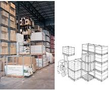 """TIER-RACK™"" DYNA PALLET STACKING FRAMES"
