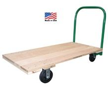 OAK AND HARDWOOD PLATFORM TRUCKS